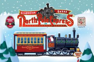 North Pole Express @ Cotton Belt Railroad District