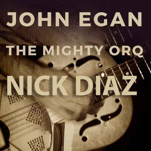 Live Music: Mighty Orq / John Egan