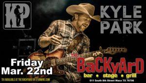 Live Music: Kyle Park @ Backyard Waco