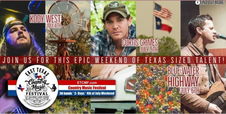 East Texas Country Music Festival