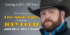 Jody Booth's Music Video Shoot @ Marshall's Tavern