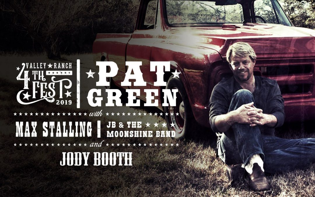Jody Booth, Max Stallings & Pat Green