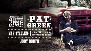 Jody Booth, Max Stallings & Pat Green @ Valley Ranch 4th Fest