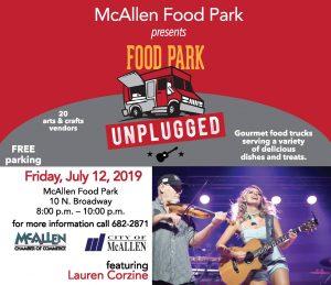 Lauren Corzine @ McAllen Food Park - 10 N Broadway