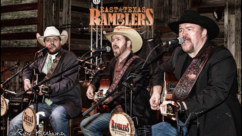 East Texas Ramblers and friends, honoring our First Responders