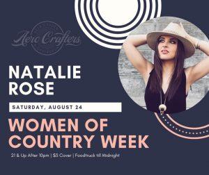 Women of Country Music Week - Natalie Rose @ Aero Crafters