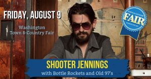 Shooter Jennings @ Washington Town and Country Fair