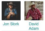 Jon Stork & David Adam Byrnes @ Big Texas Dance Hall and Saloon