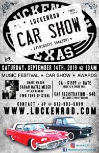 LuckenRod Car Show and Music Festival @ Luckenbach Texas