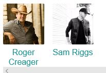 Roger Creager with Sam Riggs @ Starlight Ranch Event Center
