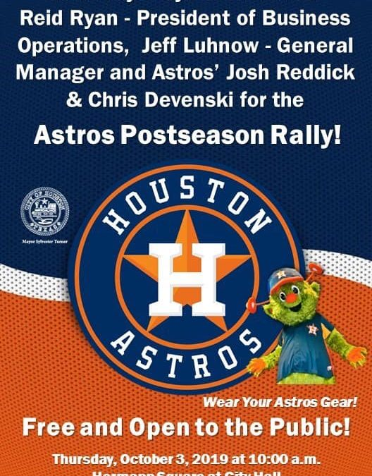 Astros Postseason Rally