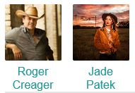 Jade Marie Patek with Roger Creager @ Schroeder Hall