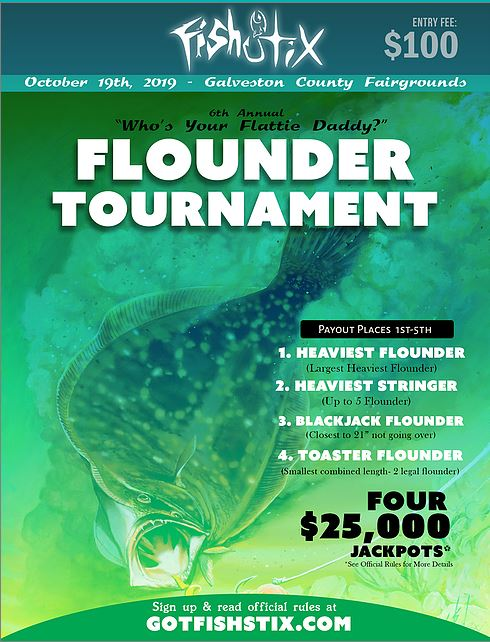 Who's Your Flattie Daddy Flounder Fishing Tournament