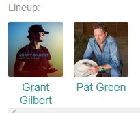 Grant Gilbert with Pat Green @ Hurricane Harry's