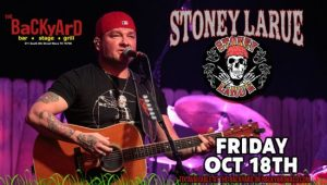 Stoney LaRue @ The Backyard