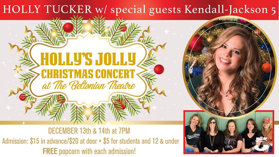 Holly's Jolly Christmas Concert with Holly Tucker