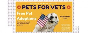 Pets for Vets @ Houston Humane Society