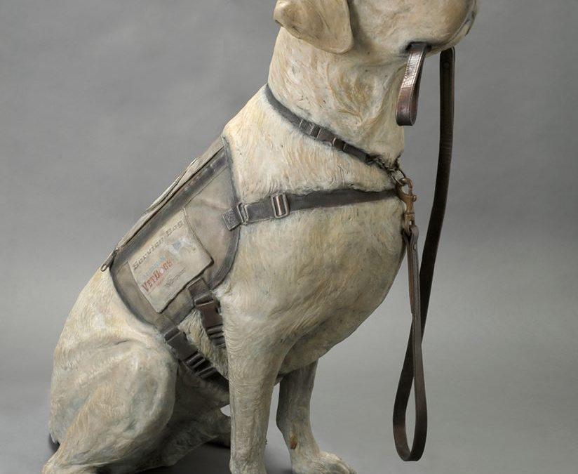 America's Vet Dog present the Sully Commerative Statue