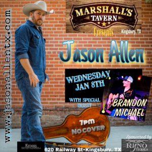 Jason Allen @ Marshall's Tavern