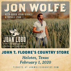 Jon Wolfe with David Adam Byrnes and Royale Lynn @ John T. Floore Country Store