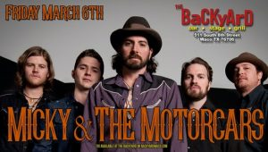 Micky And The Motorcars @ The Backyard