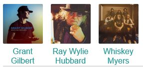 Ray Wylie Hubbard with Whiskey Meyers and Grant Gilbert