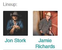 Jon Stork with Jamie Richards @ Silver Saddle Saloon & Feedlot