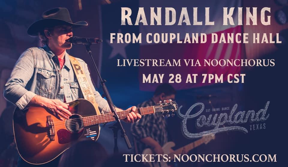 Randall King Livestream