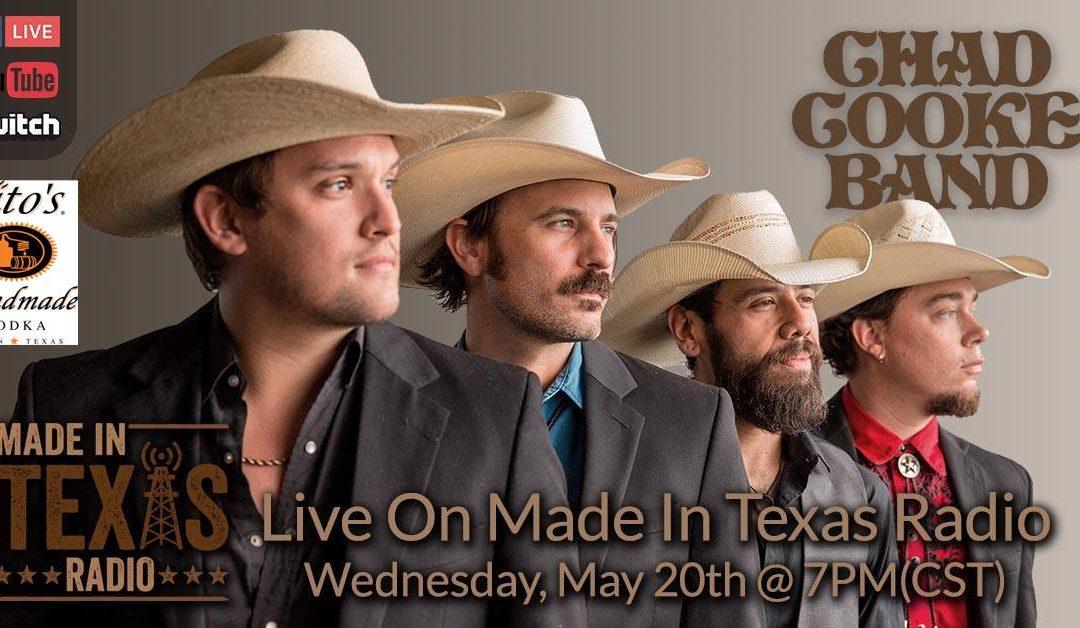 Chad Cooke Band – Texans Helping Texans Quarantine Concert Series