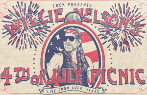 Willie's 4th of July Picnic (Livestream) @ Live from Luck Ranch