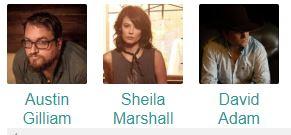 Sheila Marshall, David Adam Byrnes & Austin Gilliam @ Dosey Doe Big Barn