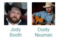 Jody Booth with Dusty Neuman