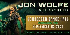 Jon Wolfe with Clay Hollis @ Schroeder Dance Hall
