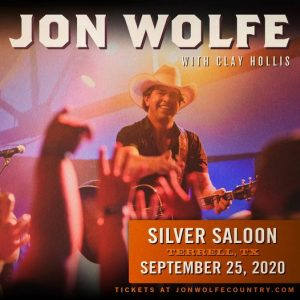 Jon Wolfe with Clay Hollis @ Silver Saloon