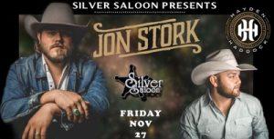 Jon Stork / Hayden Haddock @ Silver Saloon