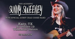 Sunny Sweeney / Chad Cooke Band @ Wildcatter Saloon