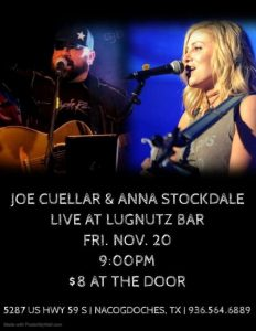 Anna Stockdale & Joe Cuellar @ LugNutz