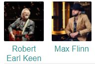 Robert Earl Keen with Max Flinn