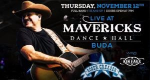 Roger Creager with Kin Faux @ Mavericks Dance Hall