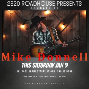 Mike Donnell @ 2920 Roadhouse