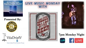 Jake Bush - Live Music Monday @ Facebook Live and Tune In