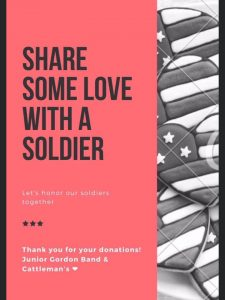 Share Some Love With a Soldier @ Cattleman Western Store