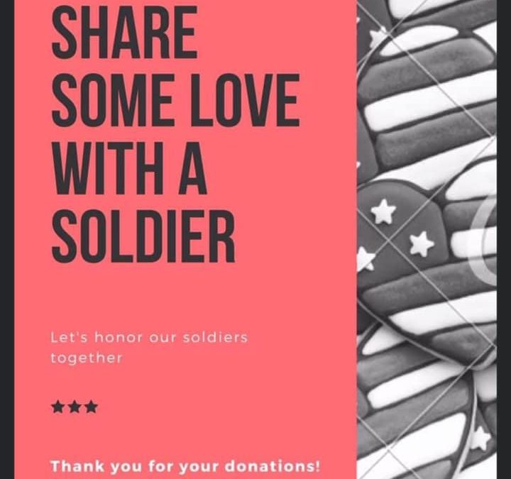 Share Some Love With a Soldier