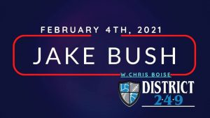 Jake Bush with special guest Chris Boise @ 249 Bar & Grill
