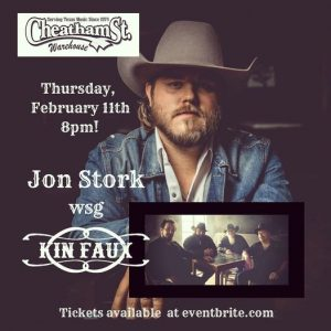Kin Faux with Jon Stork @ Cheatham Street Warehouse