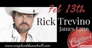 Rick Trevino & James Lann @ Coupland Dance Hall