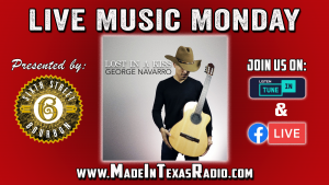 George Navarro - Live Music Monday @ Facebook Live and Tune in