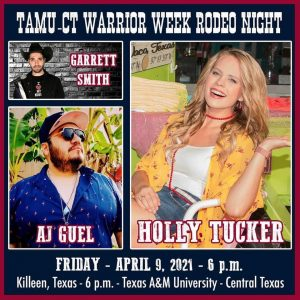 Holly Tucker at Texas A&M - CT Warrior Week Rodeo Night @ Texas A&M University Central Texas