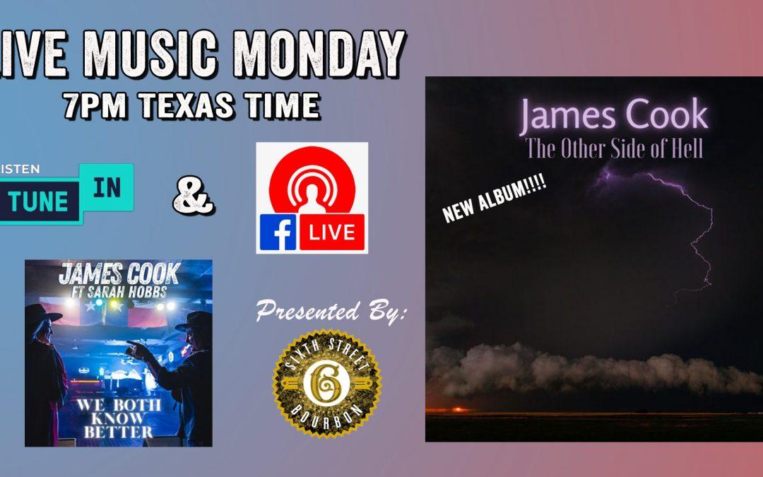 James Cook – Live Music Monday