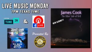 James Cook - Live Music Monday @ Facebook Live